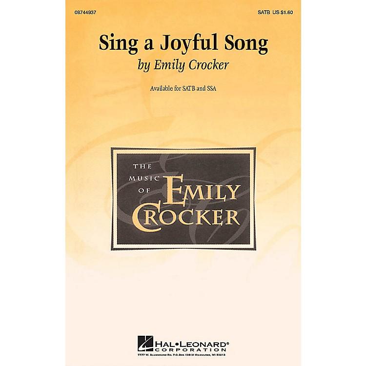 Hal LeonardSing a Joyful Song SSA Composed by Emily Crocker