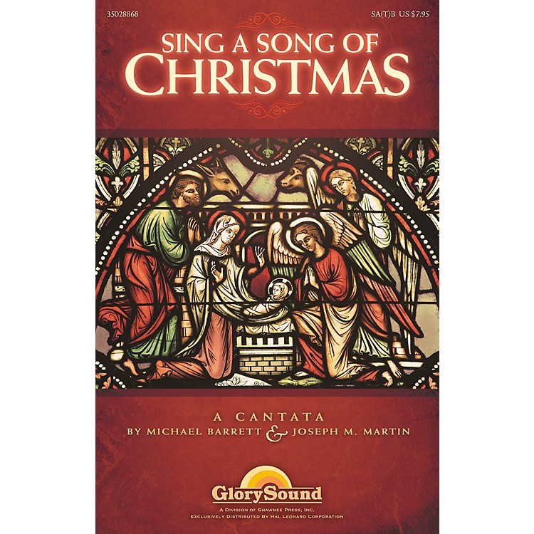 Shawnee PressSing a Song of Christmas REHEARSAL TX Composed by Michael Barrett