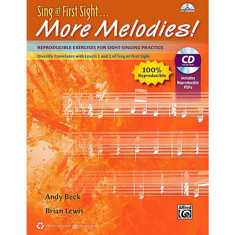 AlfredSing at First Sight . . . More Melodies! Reproducible Book & Data CD