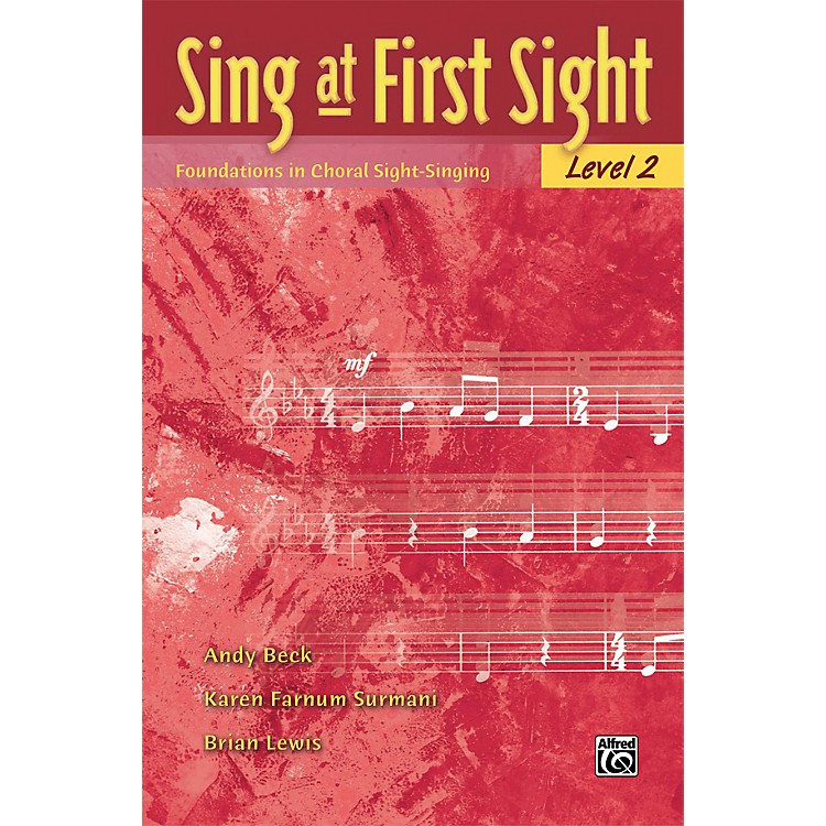 Alfred Sing at First Sight Level 2 Choir