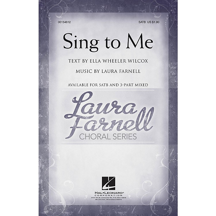 Hal LeonardSing to Me 3-Part Mixed Composed by Laura Farnell