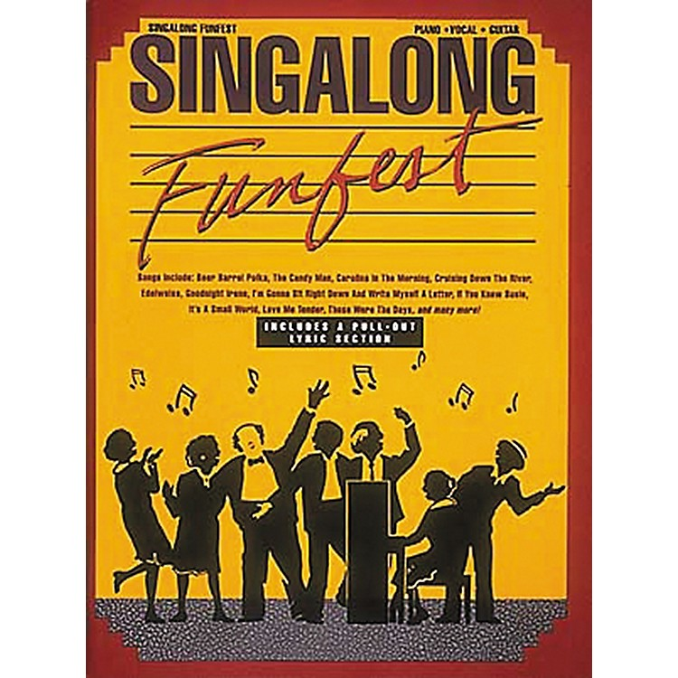 Hal LeonardSingalong Funfest Revised Piano, Vocal, Guitar Songbook