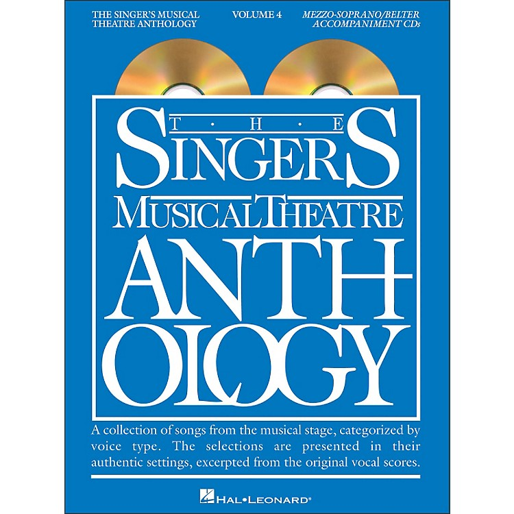Hal Leonard Singer's Musical Theatre Anthology - Mezzo-Soprano / Belter Volume 4 Accompaniment CD's