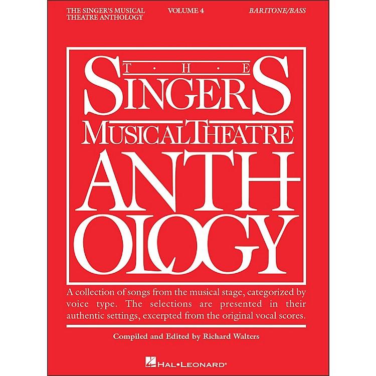 Hal LeonardSinger's Musical Theatre Anthology Baritone / Bass Volume 4