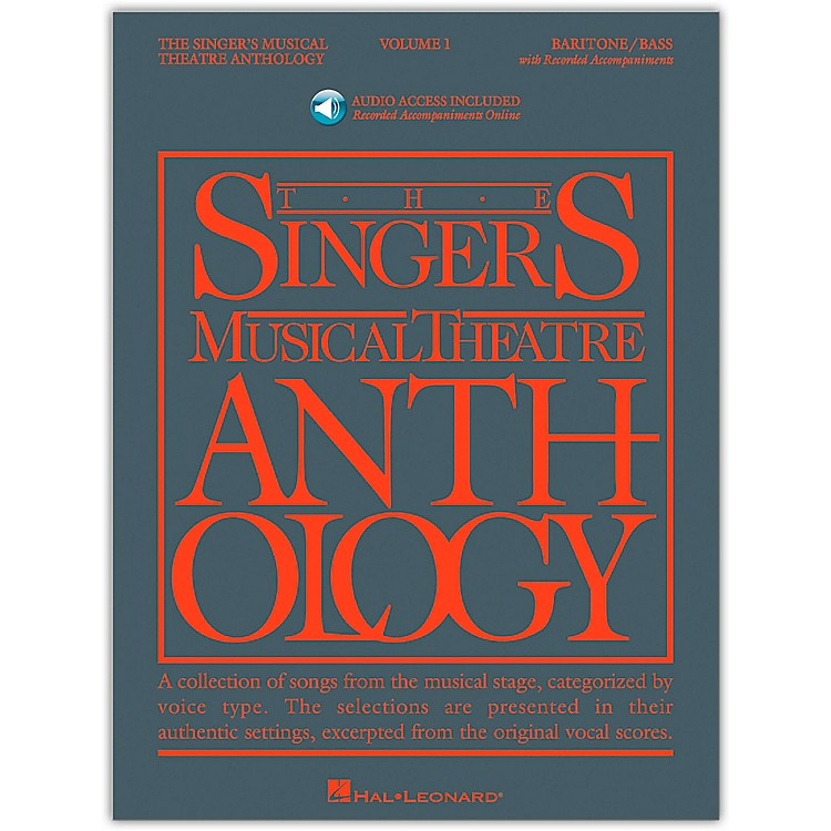 Hal Leonard Singer's Musical Theatre Anthology for Baritone / Bass Volume 1 Book/Online Audio