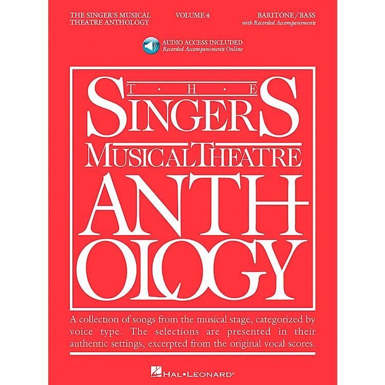 Hal LeonardSinger's Musical Theatre Anthology for Baritone / Bass Volume 4 Book/2CD's