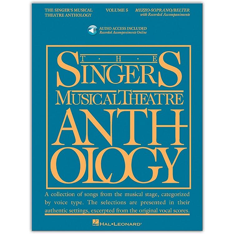 Hal LeonardSinger's Musical Theatre Anthology for Mezzo-Soprano / Belter Vol 5 Book/Online Audio