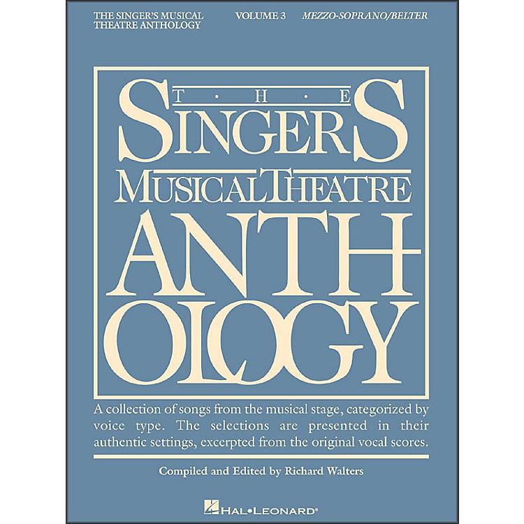 Hal LeonardSinger's Musical Theatre Anthology for Mezzo-Soprano / Belter Volume 3