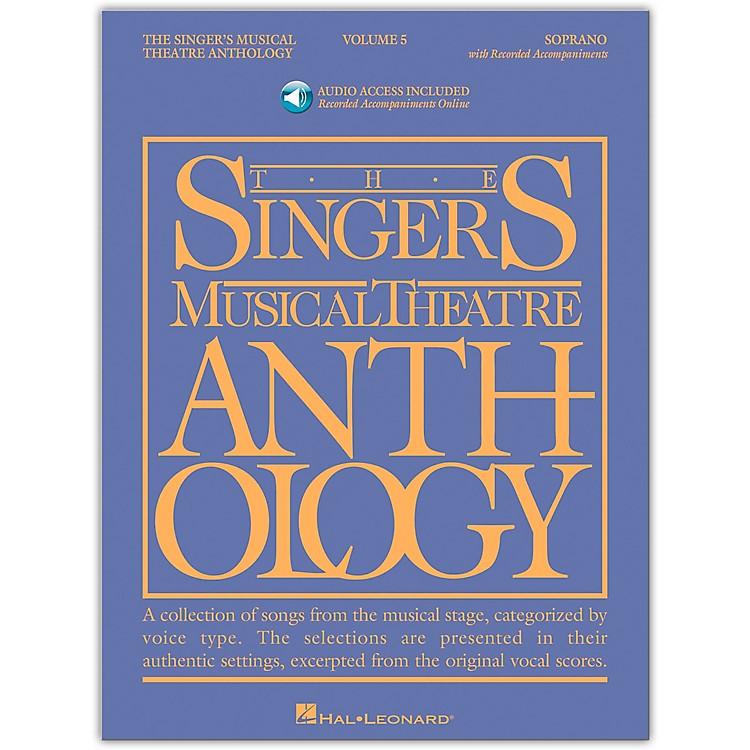 Hal LeonardSinger's Musical Theatre Anthology for Soprano Vol 5 Book/Online Audio