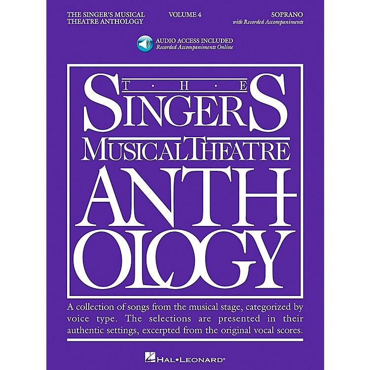 Hal LeonardSinger's Musical Theatre Anthology for Soprano Volume 4 Book/2CD's