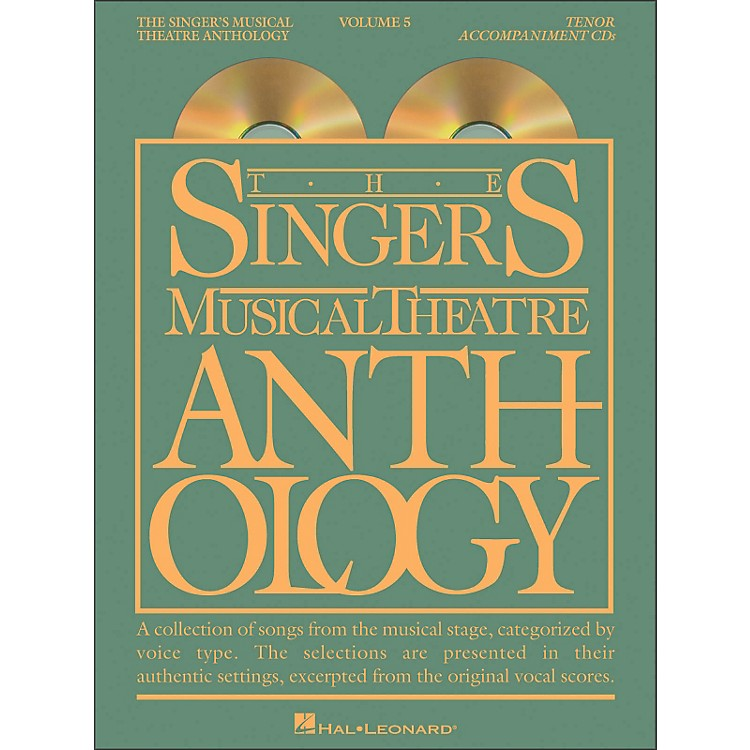 Hal LeonardSinger's Musical Theatre Anthology for Tenor Voice Vol 5 2 CD's Accompaniment
