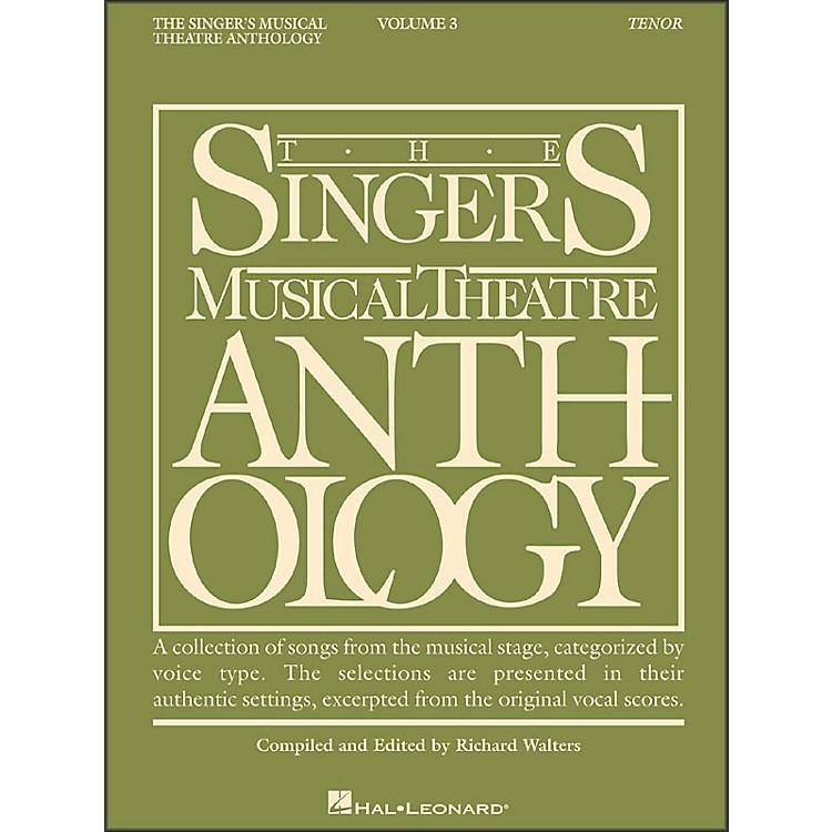 Hal LeonardSinger's Musical Theatre Anthology for Tenor Voice Volume 3