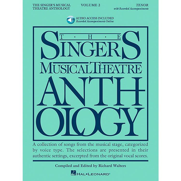 Hal LeonardSinger's Musical Theatre Anthology for Tenor Volume 2 Book/2CD's