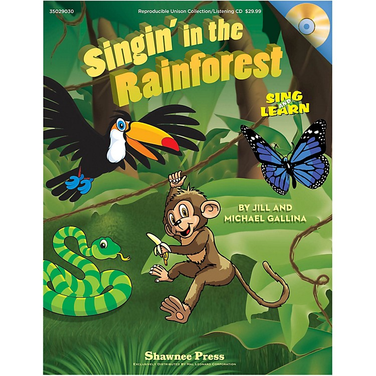 Hal LeonardSingin' In The Rainforest Book/Listening CD