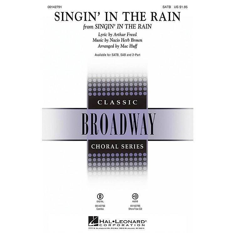 Hal LeonardSingin' in the Rain ShowTrax CD Arranged by Mac Huff