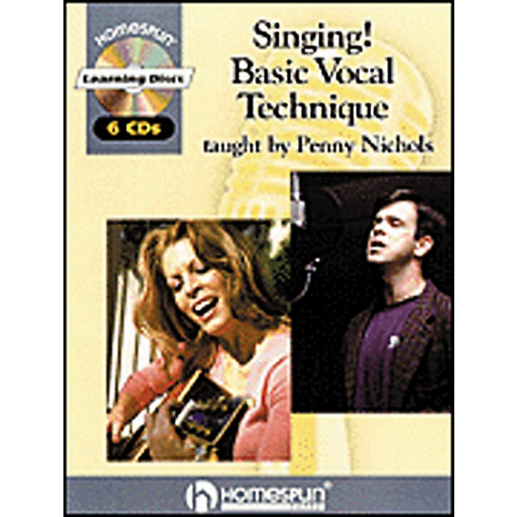 Hal Leonard Singing! Basic Vocal Technique Book and 6-CD Package