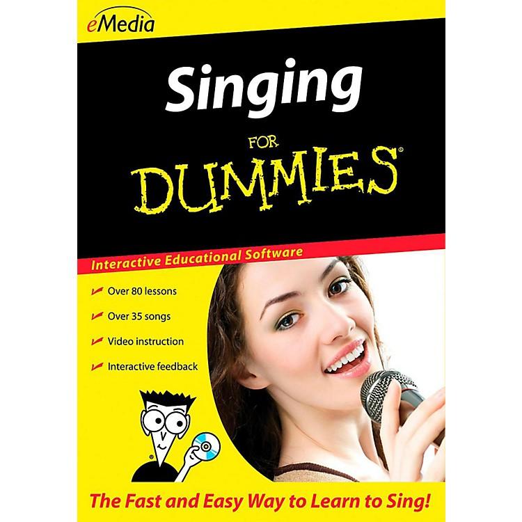 eMediaSinging For Dummies - Digital Download