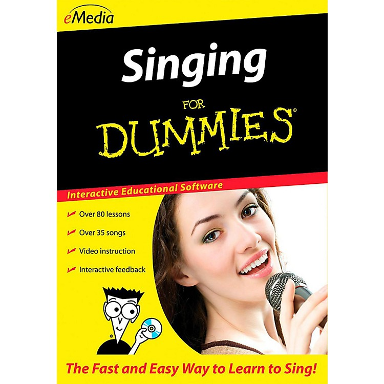 Emedia Singing For Dummies - Digital Download Macintosh Version