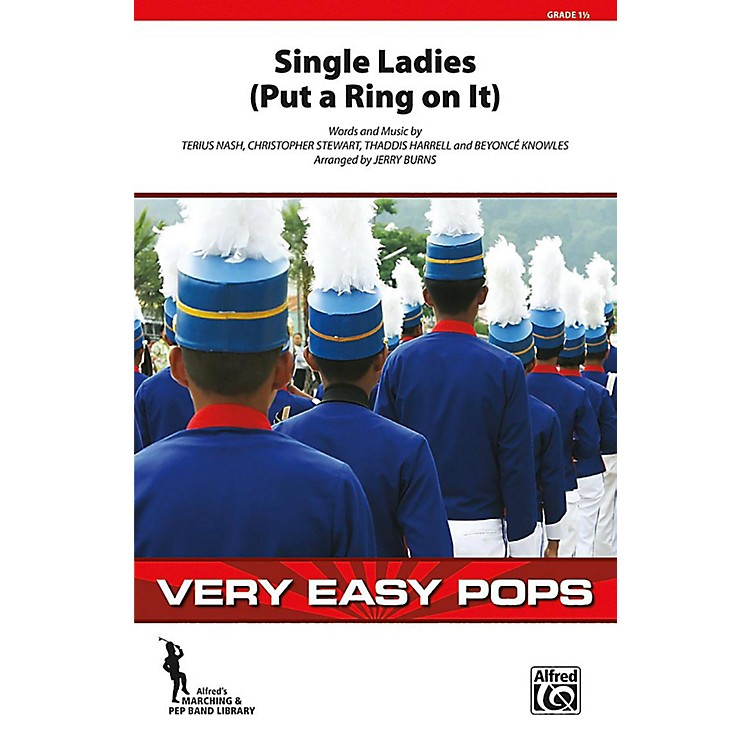 Alfred Single Ladies (Put a Ring on It) Grade 1.5 (Very Easy)