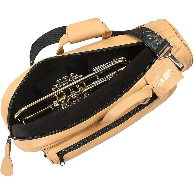 GardSingle Trumpet Gig BagLight Tan Leather