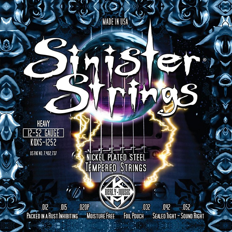 Kerly MusicSinister Strings Nickel Wound Electric Guitar Strings - Heavy
