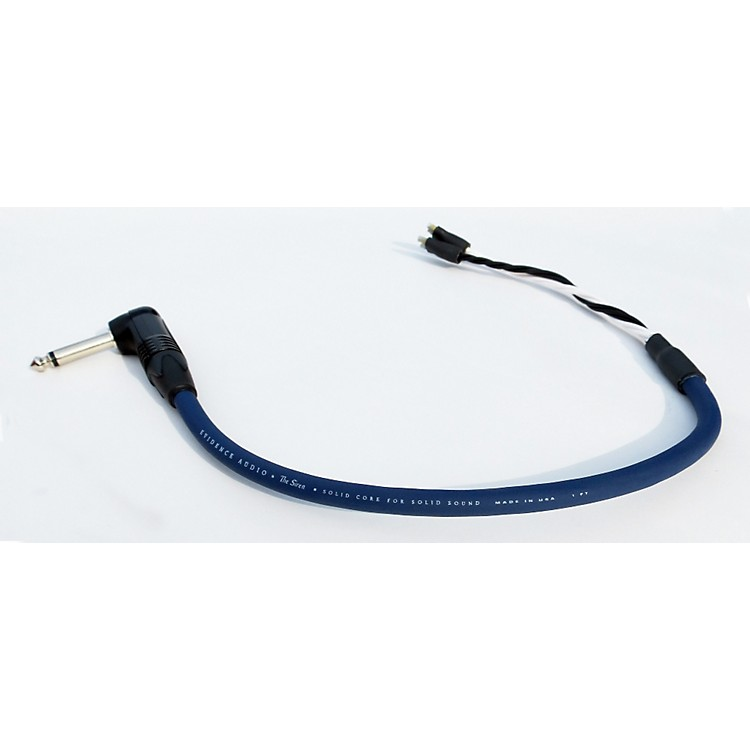 Evidence Audio Siren II Right-Angle Combo Speaker Cable 1 ft.
