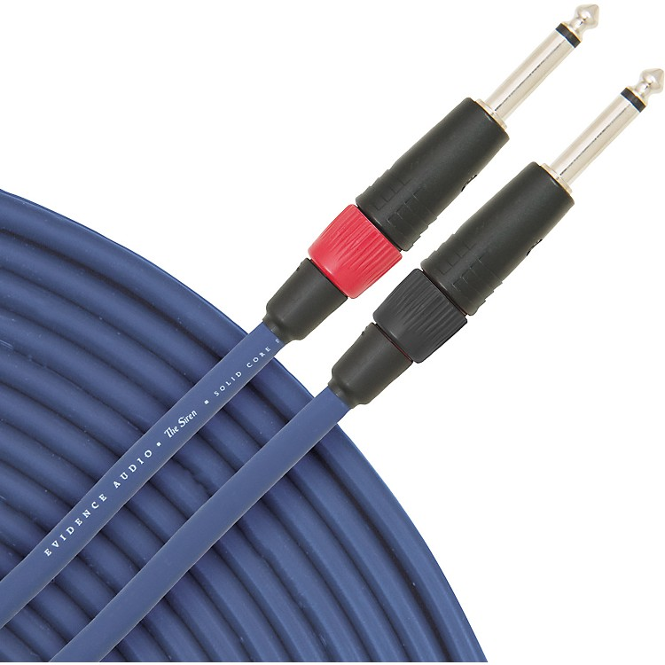 Evidence Audio Siren II Speaker Cable 5 ft. Straight to Straight 1/4 IN