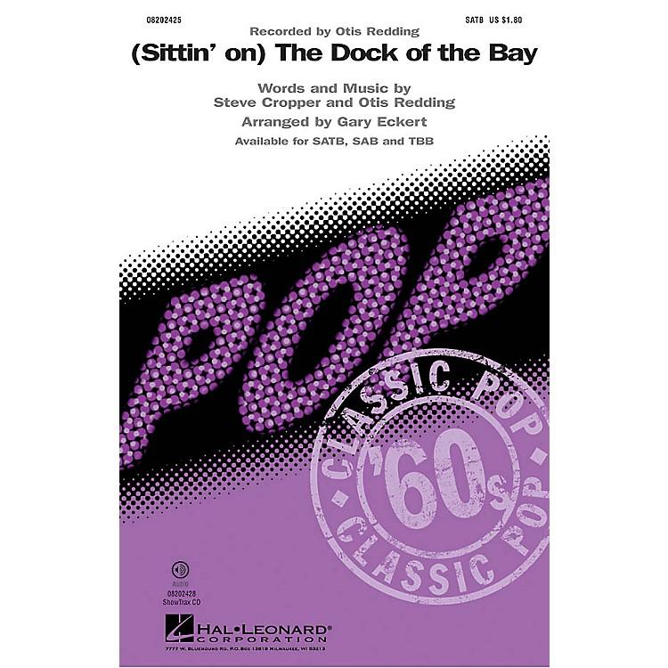 Hal Leonard(Sittin' On) The Dock of the Bay SATB by Otis Redding arranged by Gary Eckert