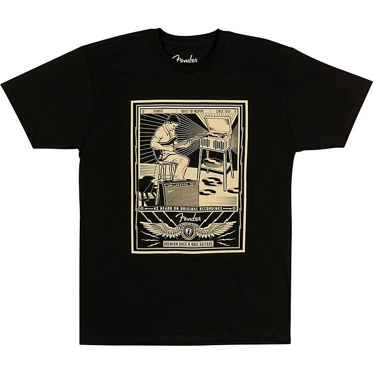FenderSitting Player Men's T-ShirtSmallBlack