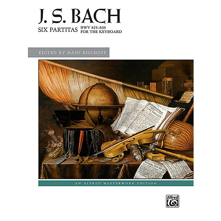 AlfredSix Partitas, BWV 825--830 - Book Advanced