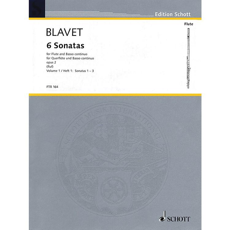 SchottSix Sonatas, Op. 2 (Volume 1) Schott Series