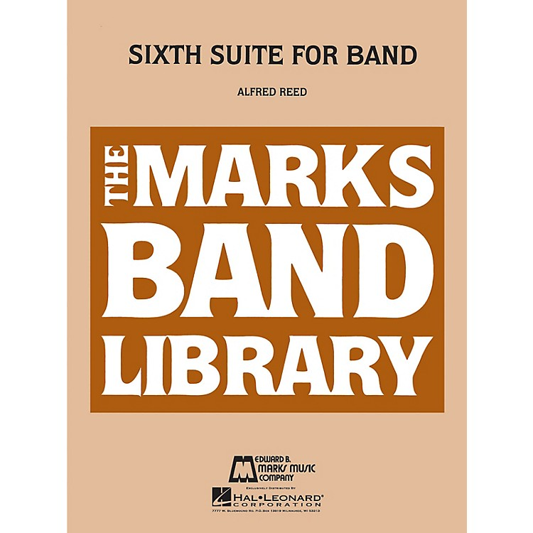 Hal LeonardSixth Suite For Band Full Score Concert Band
