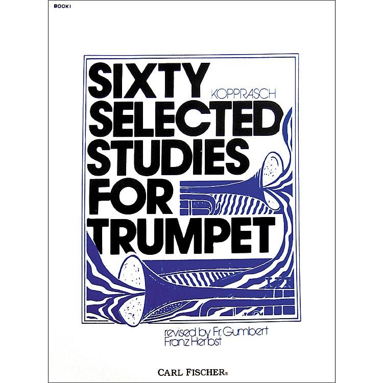Carl FischerSixty Selected Studies for TrumpetBook 1