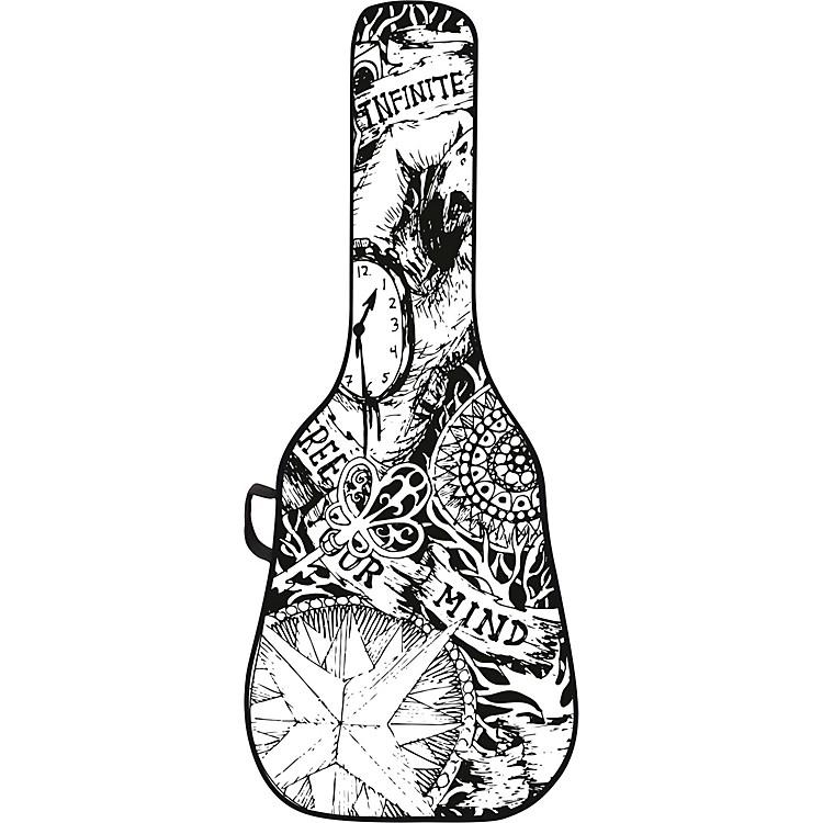 BOLDFACESketch Acoustic Guitar Gig Bag w/ Graphic Face Panel