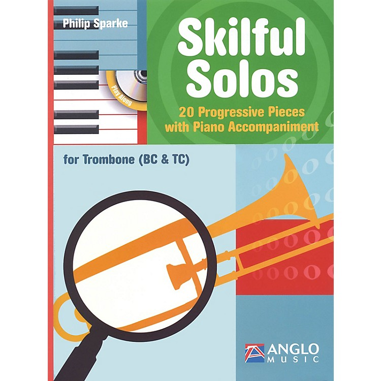 Anglo MusicSkilful Solos (Trombone and Piano) Anglo Music Press Play-Along Series Softcover with CD