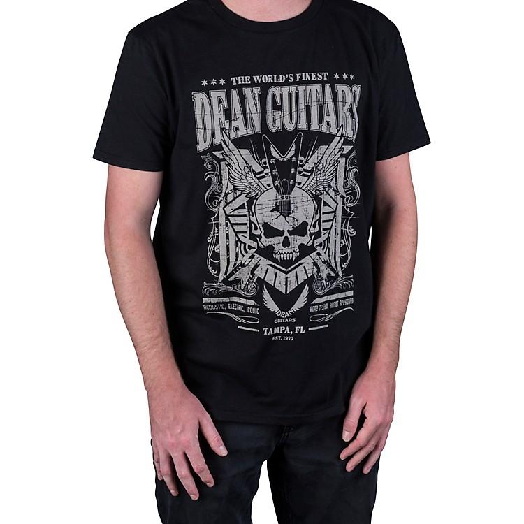 DeanSkull Black T-ShirtXX Large