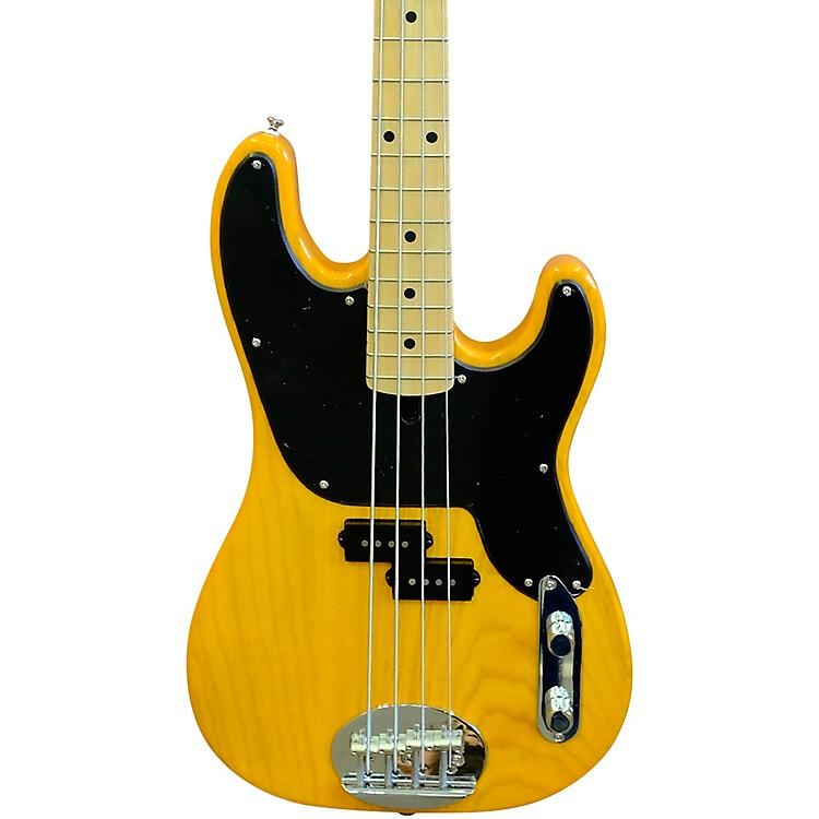 LaklandSkyline 44-51 Maple Fretboard 4-String Electric Bass GuitarBlonde