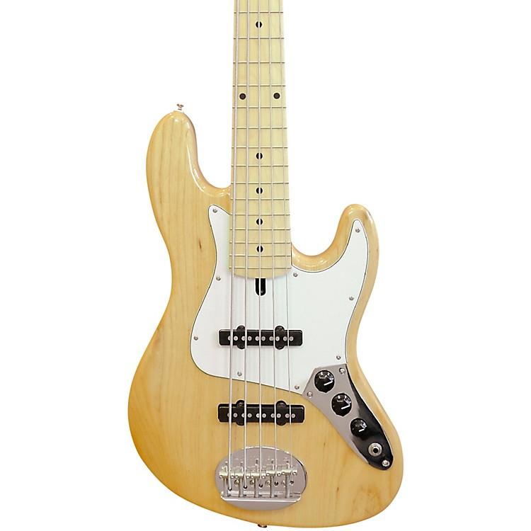 LaklandSkyline 55-60 Maple Fretboard 5-String Electric Bass GuitarNatural