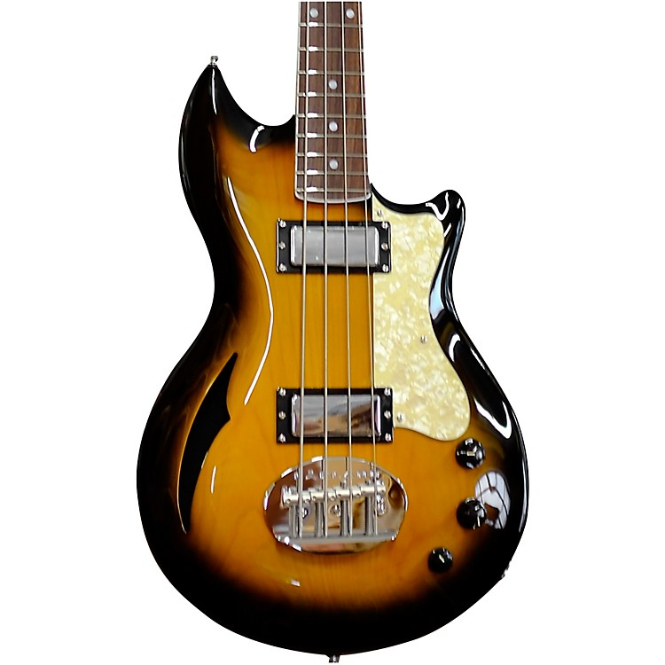 Lakland Skyline Hollowbody 30 Electric Bass Tobacco Sunburst