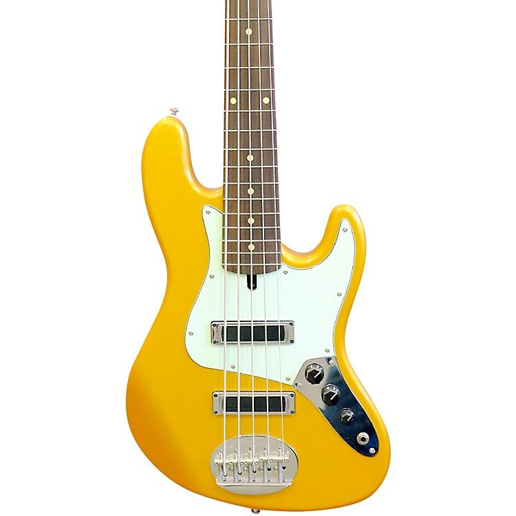 LaklandSkyline J-Sonic Rosewood Fretboard 5-String Electric Bass GuitarShoreline Gold