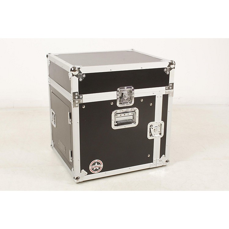 Road RunnerSlant Mixer Rack Case/Vertical RackBlack, 8 Sp888365893563