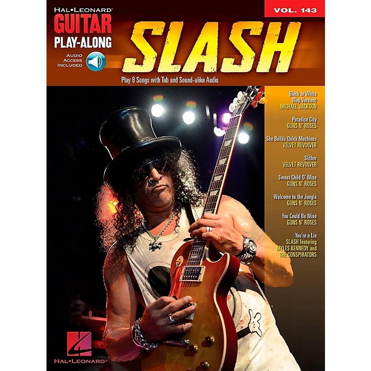 Hal Leonard Slash - Guitar Play-Along Volume 143 Book/Audio Online