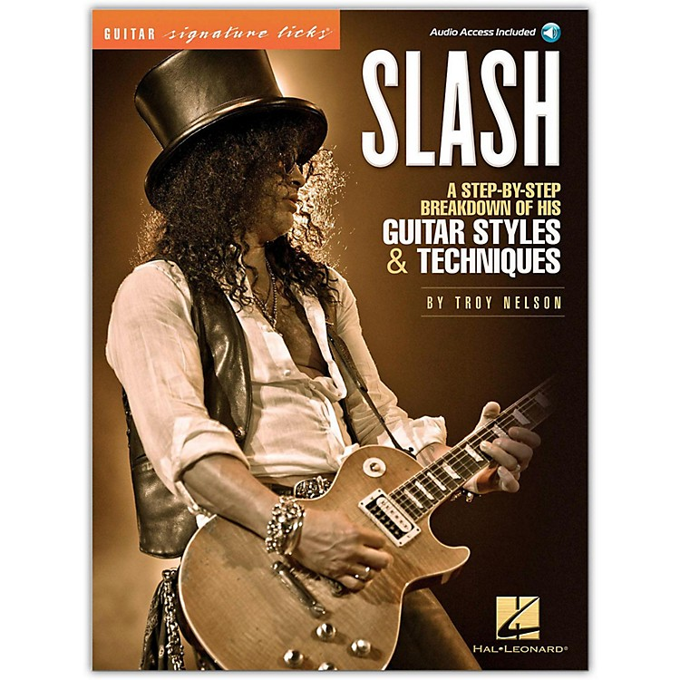 Hal LeonardSlash - Guitar Signature Licks Book/CD