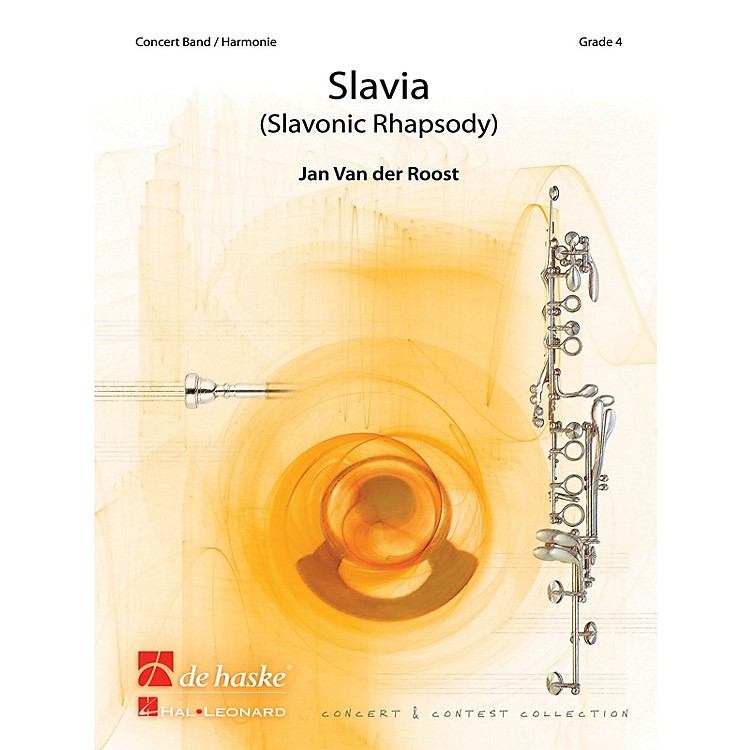Hal LeonardSlavia Score Only Concert Band