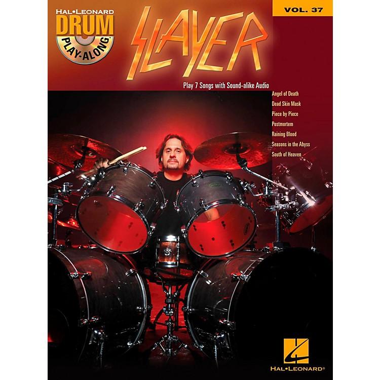 Hal LeonardSlayer - Drum Play-Along Volume 37 (Book/CD)
