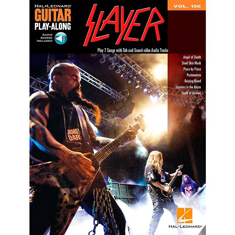 Hal LeonardSlayer Guitar Play-Along Volume 156 Book/CD