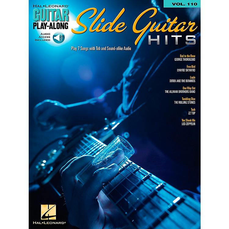 Hal LeonardSlide Guitar Hits - Guitar Play-Along Volume 110 Book/CD