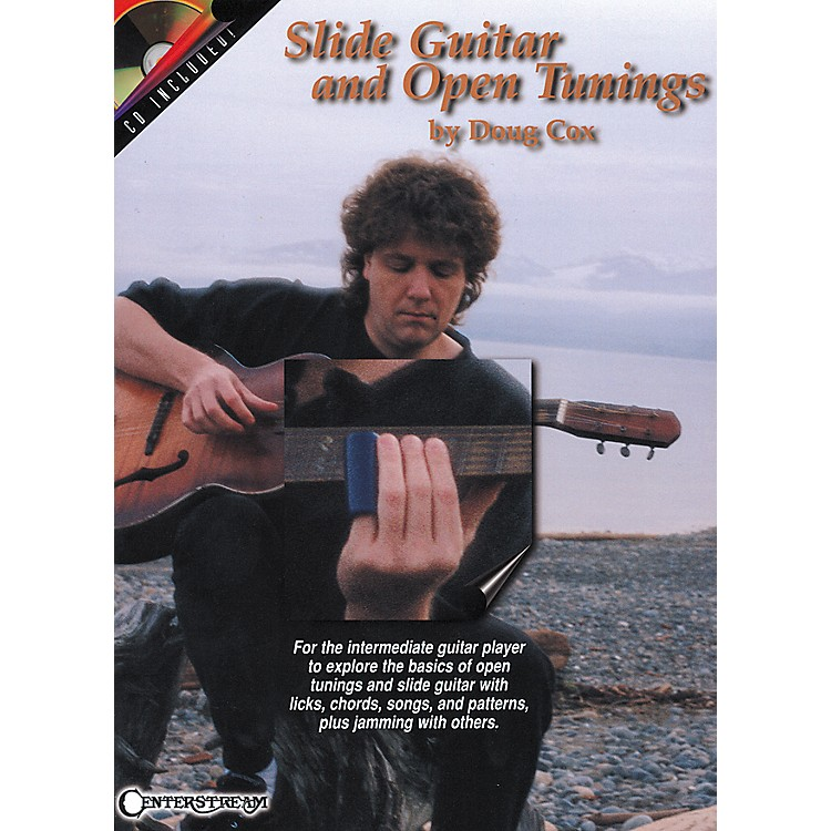 Centerstream PublishingSlide Guitar and Open Tunings Book/CD