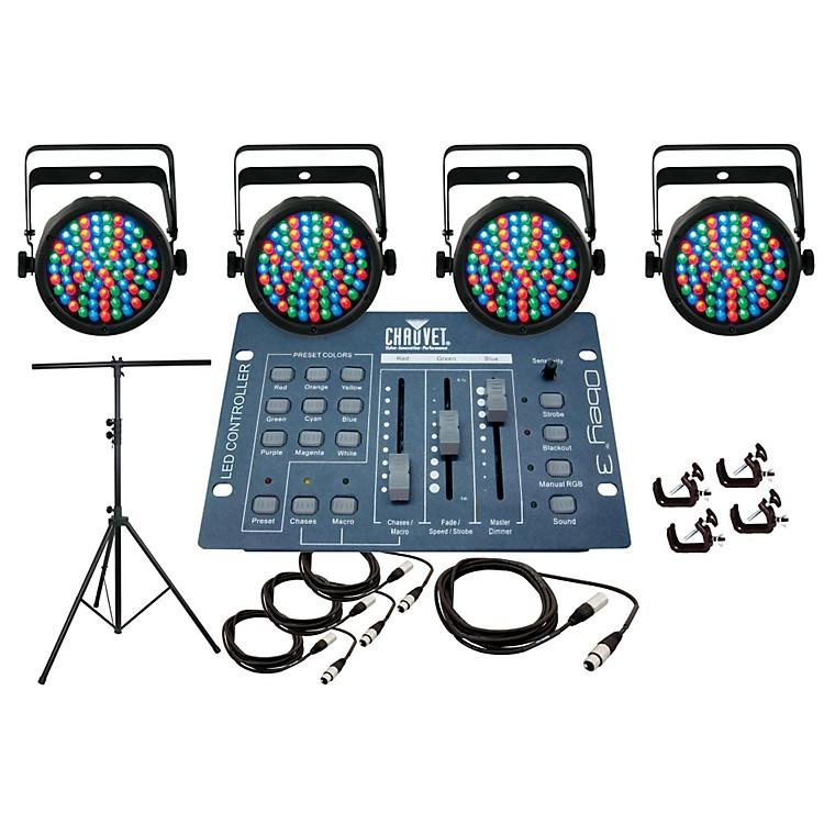 CHAUVET DJSlim Par 38 4 Light System