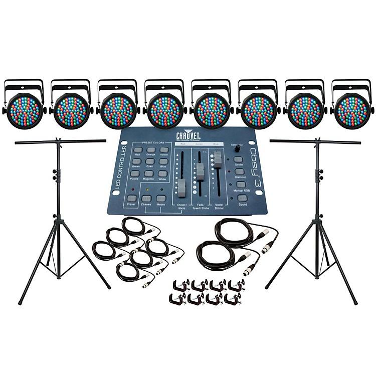 CHAUVET DJSlim Par 38 8 Light System